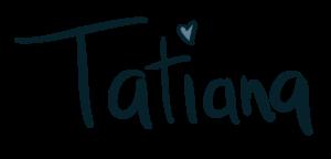 Firma Tatiana di La Grafica Leggera