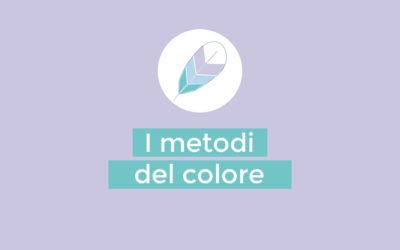 I metodi del colore